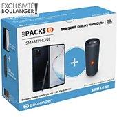 Smartphone Samsung Pack Note 10 lite Noir+Enceinte JBL Flip