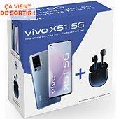 Smartphone Vivo Pack X51 5G + Ecouteur sans fils