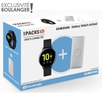 Samsung Pack Galaxy Watch Active2 44mm+Powerbank