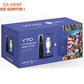 Smartphone Vivo Pack Y70 Noir + Coque Euro