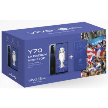 Vivo Pack Y70 Noir + Coque Euro