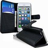 Etui Lapinette Portefeuille Apple Iphone 5c Noir