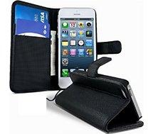 Etui Lapinette Portefeuille Apple Iphone Se Noir