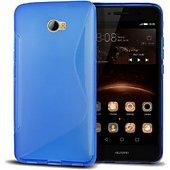 Coque Lapinette Gel Vague S Huawei Y5-Ii Bleu