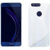 Coque Lapinette Gel Vague S Honor 8 Blanc