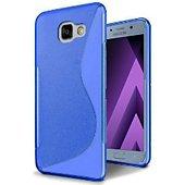 Coque Lapinette Gel Vague S Samsung Galaxy A3 2017 Bleu