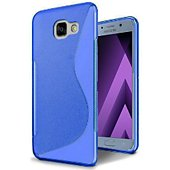 Coque Lapinette Gel Vague S Samsung Galaxy A5 2017 Bleu