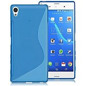 Coque Lapinette Gel Vague S Sony Xperia Xa1 Bleu