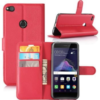 Lapinette Portefeuille Huawei P8 Lite 2017 Rouge