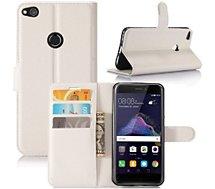 Etui Lapinette Portefeuille Huawei P8 Lite 2017 Blanc