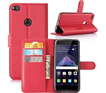 Etui Lapinette Portefeuille Huawei P8 Lite 2017 Rouge