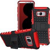 Coque Lapinette Anti Choc Samsung Galaxy S8 Rouge