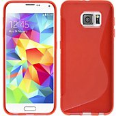 Coque Lapinette Gel Vague S Samsung Galaxy S8 Rouge