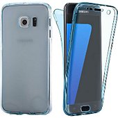 Coque Lapinette En Gel Intégrale Samsung Galaxy S8 Bleu