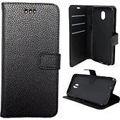 Etui Lapinette Portefeuille Samsung Galaxy J3 2017 Noir