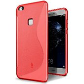 Coque Lapinette Gel Vague S Huawei P10 Lite Rouge