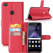 Etui Lapinette Portefeuille Huawei P10 Lite Rouge