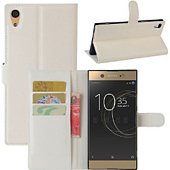 Etui Lapinette Portefeuille Sony Xperia L1 Blanc