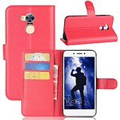 Etui Lapinette Portefeuille Honor 6A Rouge