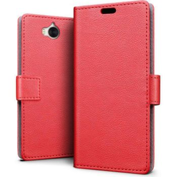 Lapinette Portefeuille Huawei Y6 2017 Rouge