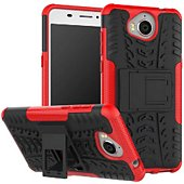 Coque Lapinette Anti Choc Huawei Y6 2017 Rouge