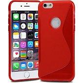 Coque Lapinette Gel Vague S Apple Iphone 8 Plus Rouge