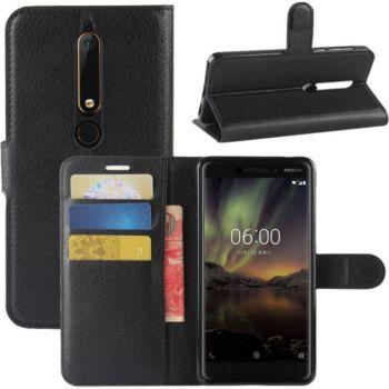 Lapinette Portefeuille Nokia 6.1 2018 Noir