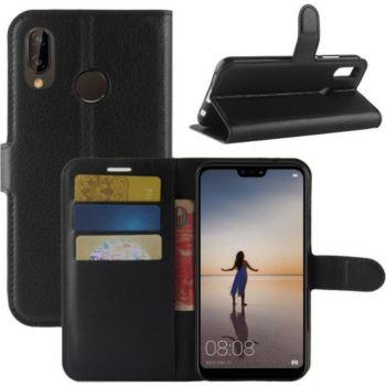 Lapinette Portefeuille Huawei P20 Lite Noir