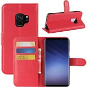Etui Lapinette Portefeuille Samsung Galaxy S9 Rouge