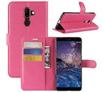 Etui Lapinette Portefeuille Nokia 7 Plus Rose