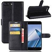 Etui Lapinette Portefeuille Huawei Y6 2018 Noir