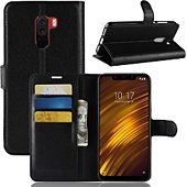 Etui Lapinette Portefeuille Xiaomi Pocophone F1 Noir