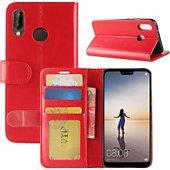 Etui Lapinette Portefeuille Huawei P Smart Plus Rouge