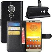Etui Lapinette Portefeuille Motorola Moto E5 Play Noir