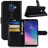 Etui Lapinette Portefeuille Samsung Galaxy A6 Noir