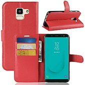 Etui Lapinette Portefeuille Samsung Galaxy J6 Rouge