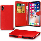 Etui Lapinette Portefeuille Apple iPhone XR Rouge