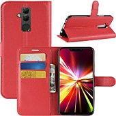 Etui Lapinette Portefeuille Huawei Mate 20 Lite Rouge