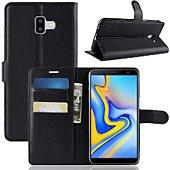 Etui Lapinette Portefeuille Samsung Galaxy J6 Plus Noir