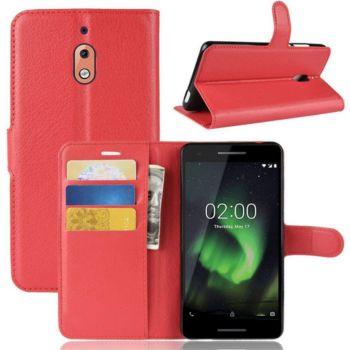 Lapinette Portefeuille Nokia 2.1 2018 Rouge