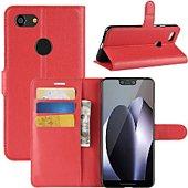 Etui Lapinette Portefeuille Google Pixel 3 XL Rouge