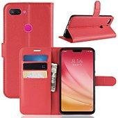 Etui Lapinette Portefeuille Xiaomi Mi 8 Lite Rouge