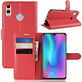Etui Lapinette Portefeuille Huawei P Smart 2019 Rouge