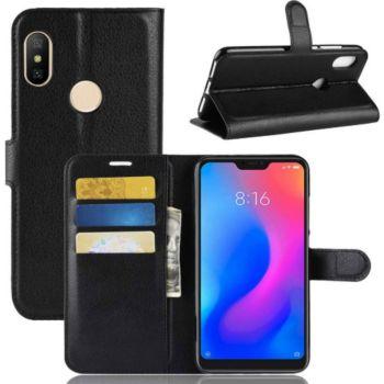 Lapinette Portefeuille Xiaomi Redmi Note 6 Pro Noi