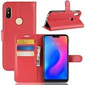 Etui Lapinette Portefeuille Xiaomi Redmi Note 6 Pro Rou