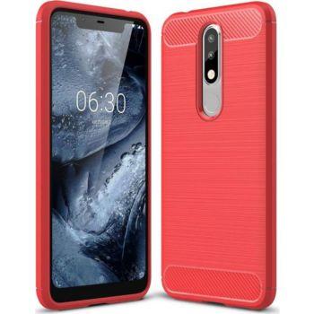 Lapinette Gel Nokia 5.1 Plus Rouge