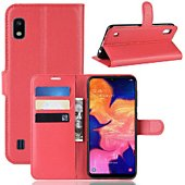 Etui Lapinette Portefeuille Samsung Galaxy A10 Rouge