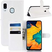 Etui Lapinette Portefeuille Samsung Galaxy A20e Blanc