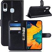 Etui Lapinette Portefeuille Samsung Galaxy A20e Noir