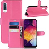 Etui Lapinette Portefeuille Samsung Galaxy A50 Rose